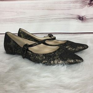 Marc Fisher Lace Flats